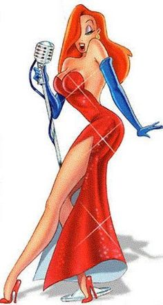 Jessica Rabbit - one of my favorite cartoon characters. This is basically the tattoo I want if I can ever find the right artist to bring it to reality
