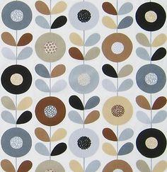 Scandinavian fabric   Designed by Betty Svensson