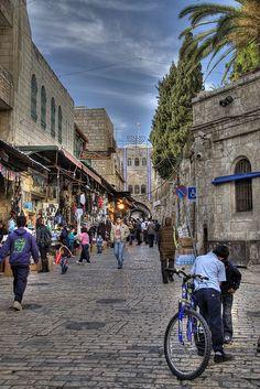 Old City Jerusalem, ISRAEL