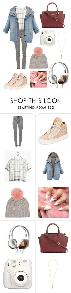 """""""Cool"""" by lmbrouder ❤ liked on Polyvore featuring J Brand, Giuseppe Zanotti, Madewell, IDA, Abercrombie & Fitch, MICHAEL Michael Kors, Fujifilm and Anine Bing"""