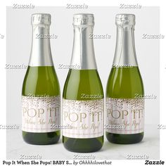 Pop It When She Pops! BABY Sparkle Shower Party Champagne Label Champagne Label, Champagne Party, Paris Theme, Photo Quality, Shower Party, How To Apply, How To Make, Best Part Of Me, Sparkle
