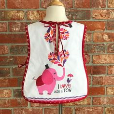 Toddler apron, back view Toddler Apron, My Love, How To Wear, Design, Design Comics