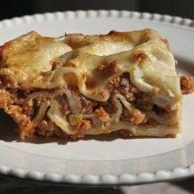 Lasagna Bolognese! Yummy!