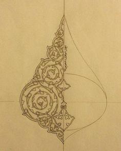 Aucune description de photo disponible. Islamic Art Pattern, Arabic Pattern, Illumination Art, Islamic Art Calligraphy, Calligraphy Alphabet, Celtic Art, Celtic Dragon, Iranian Art, Jewelry Illustration