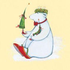 Christmas Polar Bear Boxed Cards