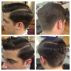I am so in love with this haircut New Men Hairstyles, Classic Hairstyles, Vintage Hairstyles, Haircuts For Men, Pelo Popular, Medium Hair Styles, Short Hair Styles, Haircut For Square Face, Barbers Cut