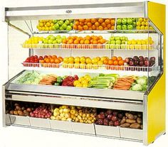 PD Series, Remote & Self-Contained, Open Produce Merchandisers    Features @ http://www.marcrefrigeration.com/pd.php