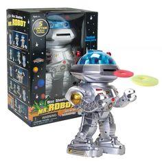 Mr Robot Remote Disc Shooting Rapid-Fire & Dancing Robot