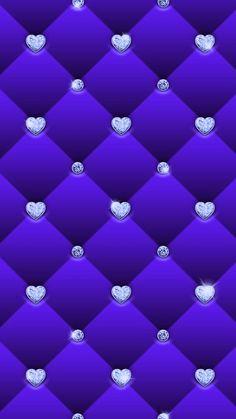 Heart Iphone Wallpaper, Diamond Wallpaper, Bling Wallpaper, Purple Wallpaper, Cellphone Wallpaper, Flower Wallpaper, Mobile Wallpaper, Pattern Wallpaper, Flower Backgrounds