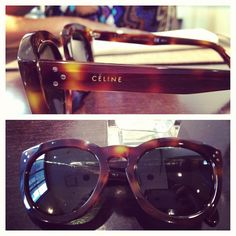 Celine Sunglasses. Ultimate accessory staple. #Celine #tortoiseshell