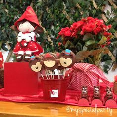 Little Red Riding Hood Birthday Party Ideas | Photo 1 of 9 | Catch My Party