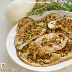 Melanzane aromatiche al forno contorno facile veloce e saporito
