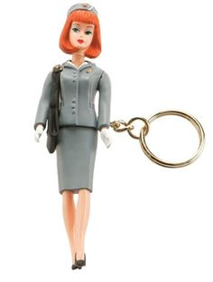 Barbie™ Flight Attendant Key Chain