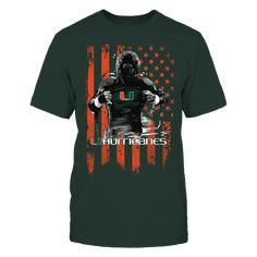 Player Flag - Miami Hurricanes Front picture