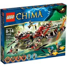 LEGO+Chima+Cragger+Command+Ship+Play+Set