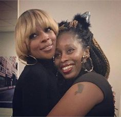 Sister Love, Mary J. Blige with her Sister Latonya 2016