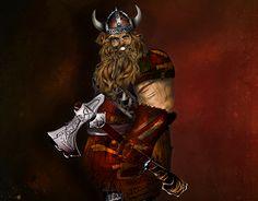 "Check out new work on my @Behance portfolio: ""Viking Warrior"" http://be.net/gallery/47808469/Viking-Warrior"