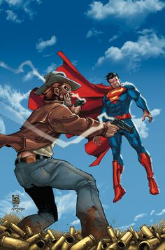ALL-STAR WESTERN #27 Written by JUSTIN GRAY and JIMMY PALMIOTTI Art by MORITAT Cover by GIUSEPPE CAMUNCOLI and NORM RAPMUND