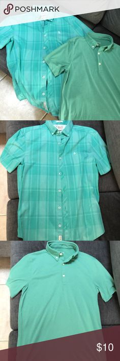 Bundle of 2 Men's Size Small Tops Excellent condition (worn once for family pictures) two men's tops in size small; one is Original Penguin button down and one is Merona polo style Original Penguin Shirts Casual Button Down Shirts