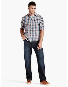 Discover Lucky Brand's fantastic selection of relaxed fit jeans for men. Choose from men's relaxed fit jeans in an array of attractive styles.