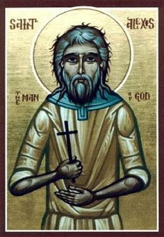 the Feast of: Saint Alexius or Alexis of Rome or Alexis of Edessa. The Greek version of his legend made Alexius the only son of Euphemianus, a wealthy Christian Roman of the senatorial class. Alexius ...(Read the rest of the story here:)  https://www.facebook.com/St.Eugene.OMI