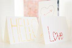 A unique take on the classic love letter.  #diy #darbysmart