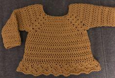 Crochet Bebe, Diy Crochet, Crochet Hooks, Knitting For Kids, Crochet For Kids, Baby Knitting, Crochet Baby Clothes, Newborn Crochet, Baby Sweater Patterns