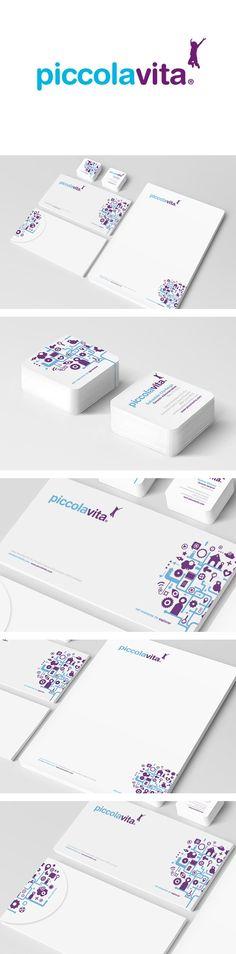 Branding - Identity System | Piccola vita