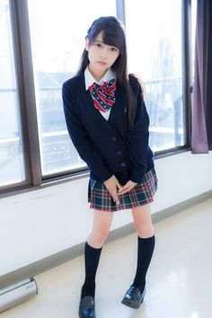 Check out these Japanes theme cosplay characters. School Girl Japan, School Girl Outfit, Japan Girl, Cute School Uniforms, School Uniform Girls, Girls Uniforms, Hot Girls, Cute Asian Girls, Japanese School Uniform