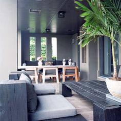 Tropical-inspired conservatory veranda | Modern decorating ideas | Homes & Gardens | Housetohome.co.uk