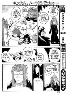 The KH manga is absolute gold.