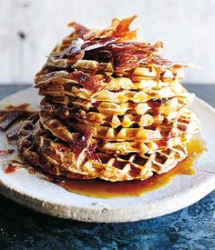 Recipe for smoked maple syrup by Gregory Llewelyn from Hartsyard in Sydney.