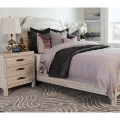 Add organization and beauty to any bedroom with the Kosas Home Cosmo 3-drawer Nightstand. This nightstand provides ample storage space at the perfect height of 28 inches for keeping an alarm clock or reading light within arm's reach.