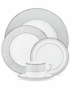 Lenox Dinnerware, Sheer Grace Collection