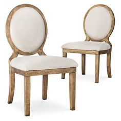 Morris Oval Back Dining Chair - Set of 2