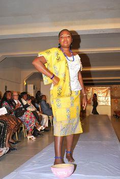 Cotonou Les Palmiers Lions Club Benin - the club held a fashion show fundraising event.