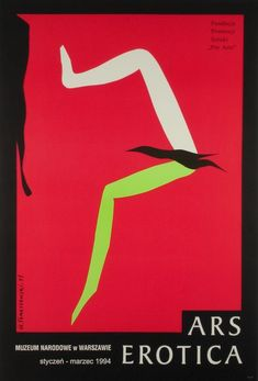 Art of Love Ars Erotica Tomaszewski Henryk Polish Poster