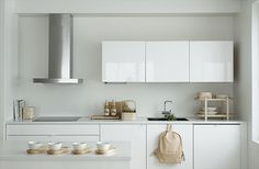 Susanna Vento for Sato simple white kitchen