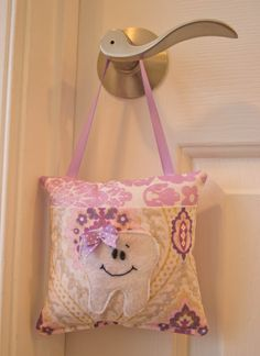 Beautiful Girls  Tooth Fairy Pillow Made by LittlePurpleDragonfl, $15.99