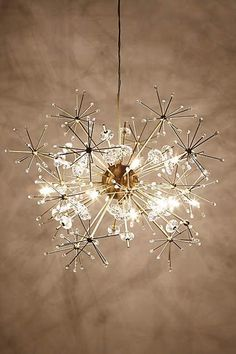 unique home decor lighting: chandeliers, lamps, and pendant lights