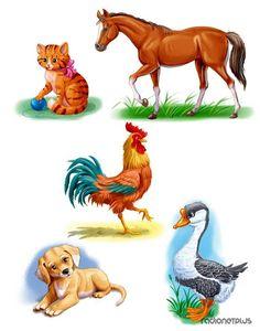 ИЛЛЮСТРАЦИИ К ДЕТСКИМ СКАЗКАМ КОНСТАНТИНА САЛАНДА » RadioNetPlus.ru развлекательный портал Animals For Kids, Farm Animals, Animals And Pets, Cute Animals, Cute Animal Clipart, School Murals, Shrink Art, Kids Art Class, Stuffed Animal Patterns
