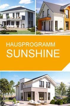 Unser Hausprogramm SUNSHINE. Ideal für jede Familie und in jedem Alter. #DeinZuhause #Traumhaus #LivingHaus #Fertighaus