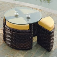 Retail $2099, Our Price $1071. Outdoor Patio Furniture. South Sea Rattan Furniture w/ Sunbrella Fabric (St. Tropez- Sushi Chat Table).  www.wemakedirtlookgood.com  http://www.facebook.com/landscapelightinganddesign, http://www.facebook.com/southernlightsofnc, http://www.facebook.com& www.southernlightsofnc.com