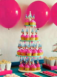 what an awesome idea for decorations for a birthday party especially a first birthday