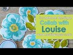 And now for something a little different..... A Scrapbook Layout is sooo way outta my league, so when Louise from Timeless Craft Mumma asked me to collab with her at Scrapbook Boutique to create some 'bits & pieces' to use I couldn't say no, I just had to see what she would create using my…