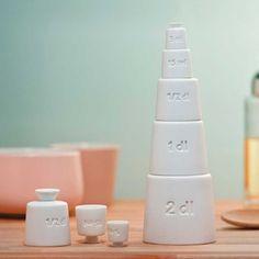 Alessi måttsats - Tower (5 delar)