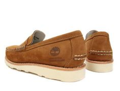 Stussy Deluxe x Timberland Leather Loafers | Highsnobiety