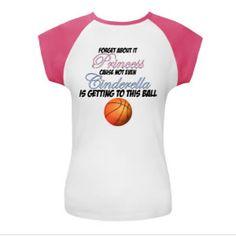 Basketball princess shirt