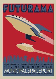 Municipal Spaceport   Futurama