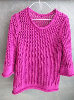 pull résille phildar catalogue 104 printemps - été fil aviso tricot, fait main, knit